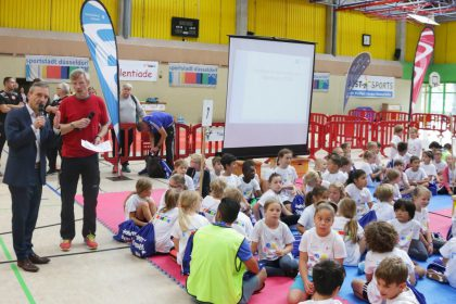 300 sportbegabte Kinder bei der Talentiade
