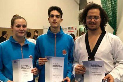 Drei Meister dürfen nach Italien