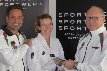 500 Trainer / Im Sportwerk bildet die Nordrhein-Westfälische Taekwondo Union ihre Trainer aus