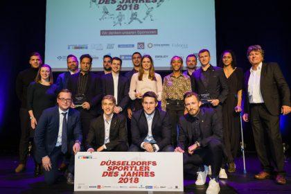 Düsseldorf hat seine Sportler des Jahres 2018 – Zweimal Fortuna, je einmal Rudern und Borussia – Ehrenpreis für das Sportwerk